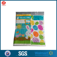 Plastic custom tablecloth tablecover table cover Easter/Thanksgiving/Valentines/Halloween decoration