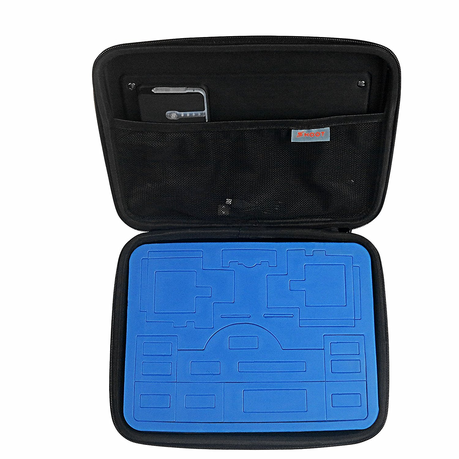 SHOOT Solar Power Charging Solar Storage Bag Case for GoPro 5/4/3+/3 Action Cameras and All Android Mobilephone