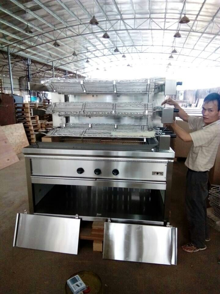 Kitchen Equipment Product ~ Commercial kitchen equipment large gas grill barbecue