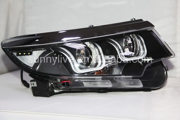 For Ford For Edge Led Head Light 2011 2013 Year U Style
