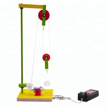 Physics Lesson Use Hoist Kids Toy Electronic DIY Kit