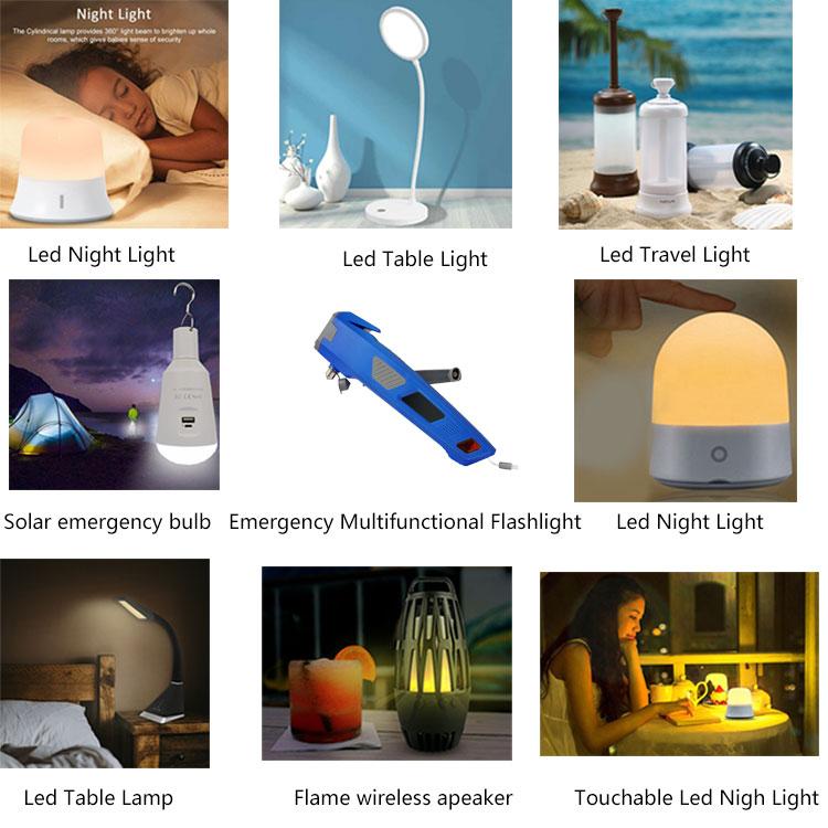 ShineLong Dimmable Interruttore del Sensore di Tocco Cosmetico Specchio Illuminato MicroUSB Dimmerabile LED Make Up Specchio con di Rotazione Regolabile