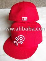 flat brim Bill fitted hats