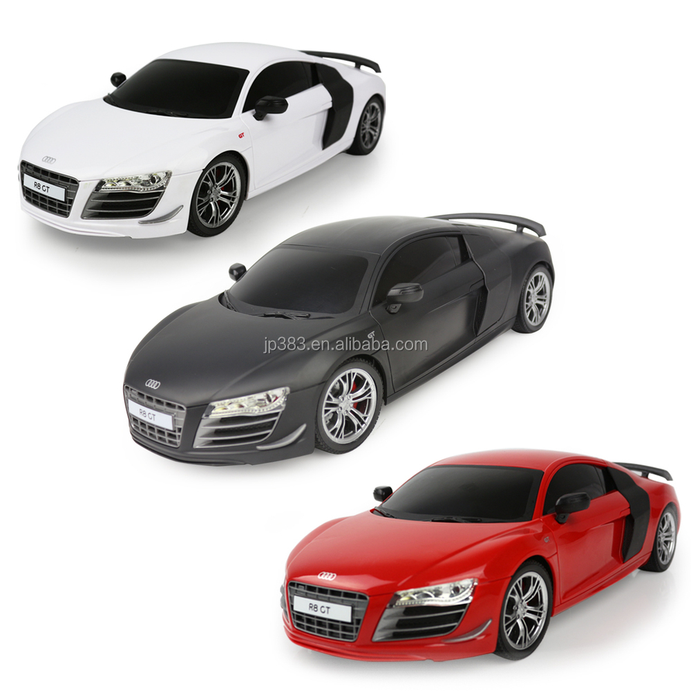 2014 nouveau produit 1 18 audi r8 t l commande voiture jouet pour enfant jouer plastique abs. Black Bedroom Furniture Sets. Home Design Ideas