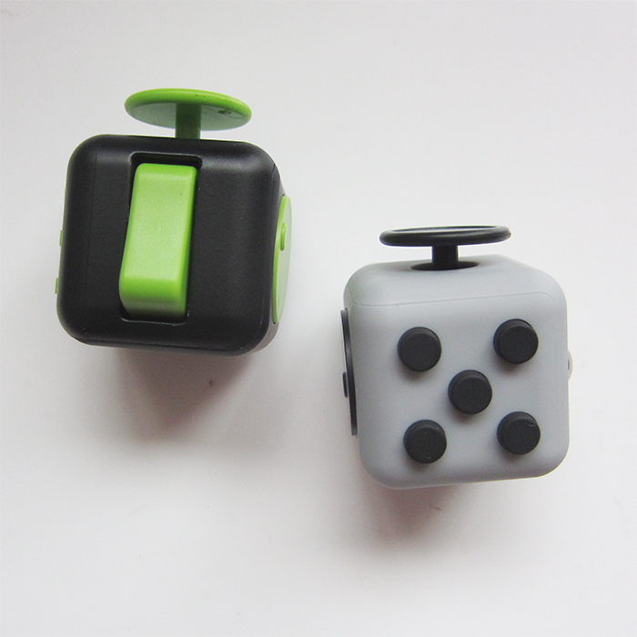 New Arrival Mixed colors fidget dice release stress cube for adults & <strong>kids</strong>