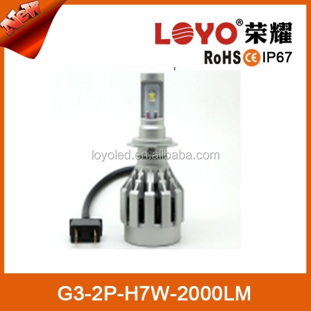 High quality h1 h4 h7 led motorcycle headlight bulb with 1 year warranty,sample order welcome