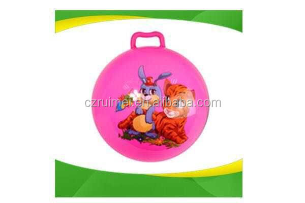 Children Eco-friendly PVC inflatable hopper Ball For Ourdoor Activities with music