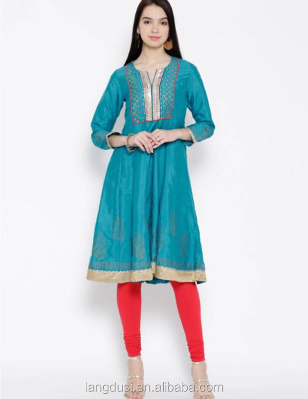 Manufacturer pakistani dress design salwar kameez wholesale Indian ladies designer punjabi suits Kurta punjabi girls in suit