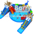 Customized giant inflatable water park for fun