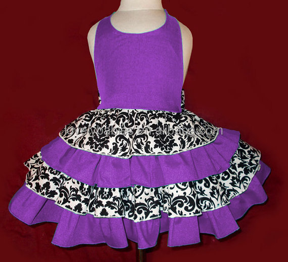 Baby Frock Designs Cute Girls Floral Printed Dresses Child's ...