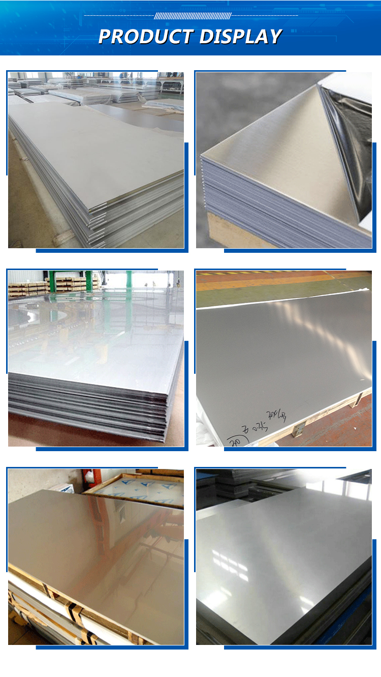 2507 316L 309S 310 2205 Hot Rolled Stainless Steel Plate