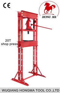 alibaba china 20T hydraulic shop press damaged cars for sale in japan