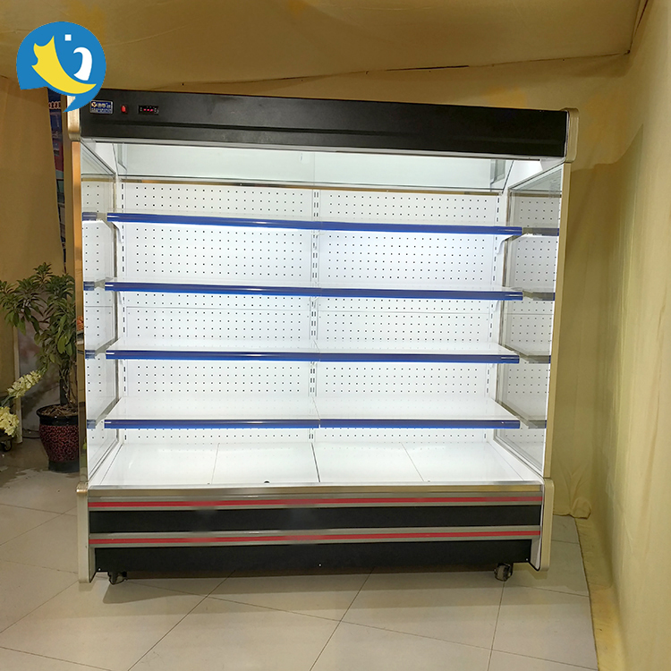 China factory size optional commercial multideck best price auto-defrosting upright beverage refrigerator