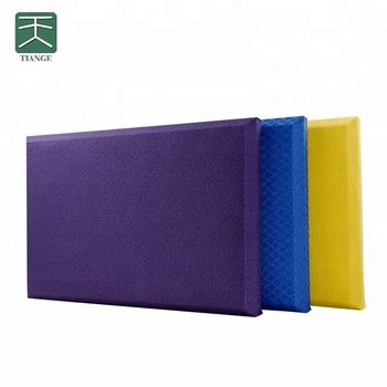TianGe acoustic fabric panel acoustical sound baffle