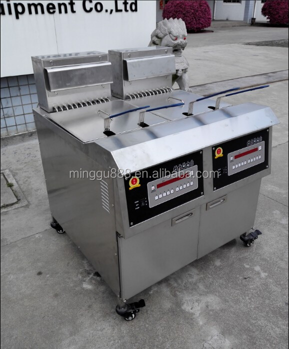 Open fryer kfc friteuse pressure fryer used henny penny for Friteuse fust