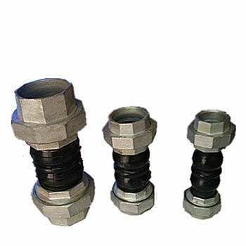 JIS   EPDM RUBBER FLEXIBLE JOINT - F/F THREADED