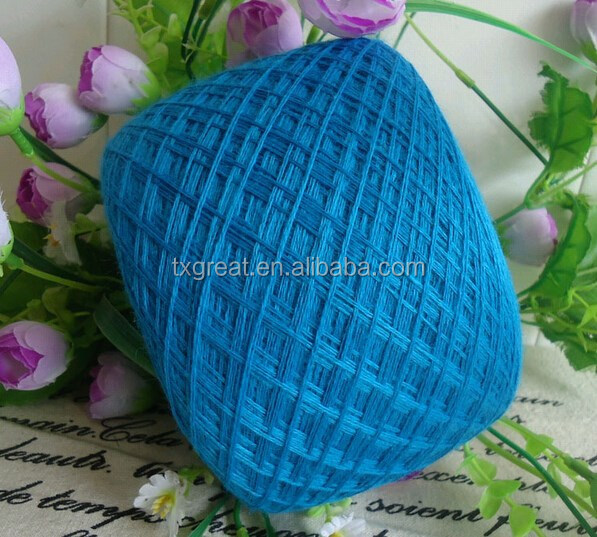 High quality knitting wool acrylic blended yarn price