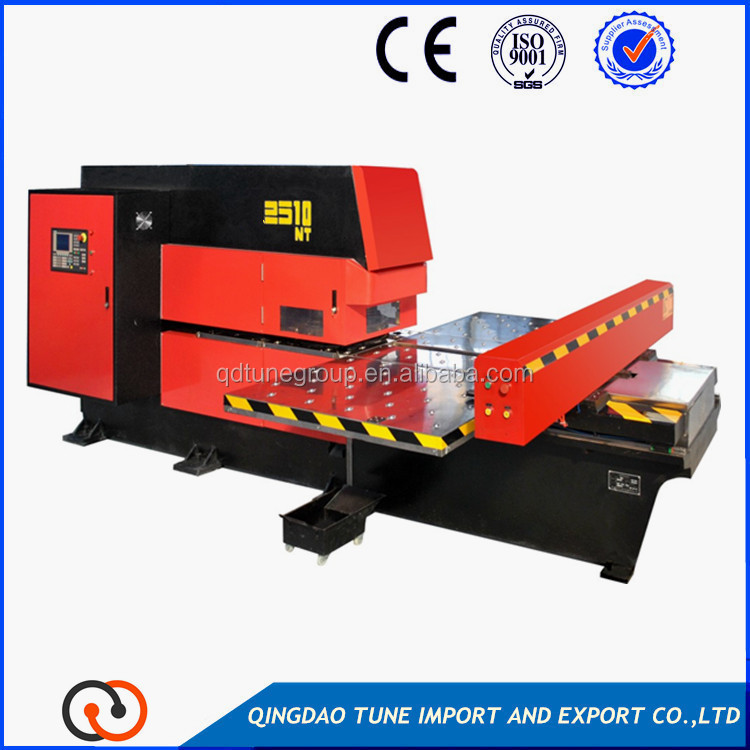 CNC punching machine sheet metal perforating machine