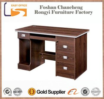 2017 Latest Design High Quality Wooden Tall Acrylic Computer Desk Table
