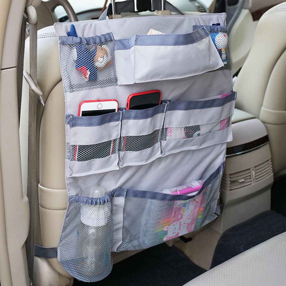 Kick Mat Seat Protector Back Pockets Seat Cover
