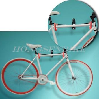 409ecd46f Gancho fixado na parede cabide de armazenamento de bicicleta suporte de  bicicleta de aço