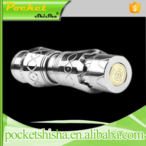 Vaping supplies ironman mod heavy smog vapor mechanical clone mod transform e cigarette