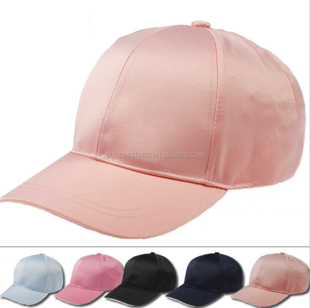 Plain Satin Fashion baseball/cap Daddy cap 5 COLORS AVAILABLE