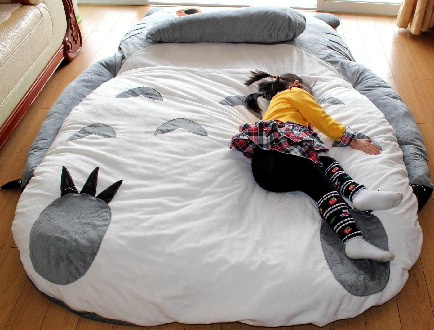 Get Quotations Huge Cute Cartoon 390cm Totoro Sleeping Bag Bed Double 3 9x2