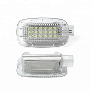Autopart car plug and play LED door welcome courtesy light for Mercedes for Benz W221