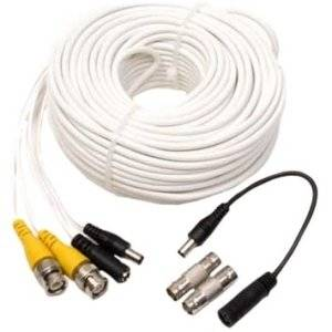 """Q-See Bnc Cable 100Ft W/Bnc Connectors - Bnc Male - Bnc Male """"Product Category: Hardware Connectivity/Connector Cables"""""""