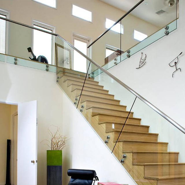 Low Price Cost Glass Stair Railing Cost Stainless Steel Railing Systems