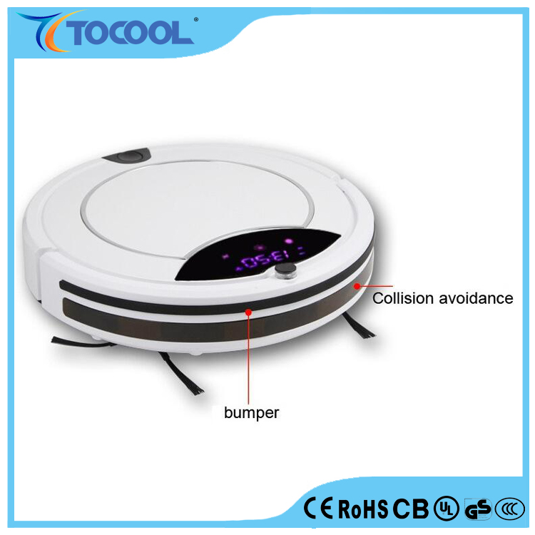 Wireless Vacuum Cleaner For Home Portable Charging Robot Cleaner With Double Brush Remote Control Smart Household appliances
