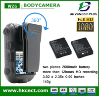 New Arrival Mini Police Officer Body Worn Camera for Cell phone control cctv wireless camera body camera police