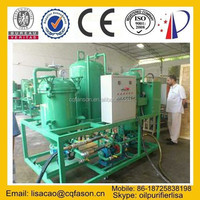 Portable waste dirty Black oil recycling and oil recovery system