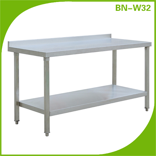 Stainless Steel Large Commercial Restaurant Kitchen Normal Prep - Large stainless steel work table