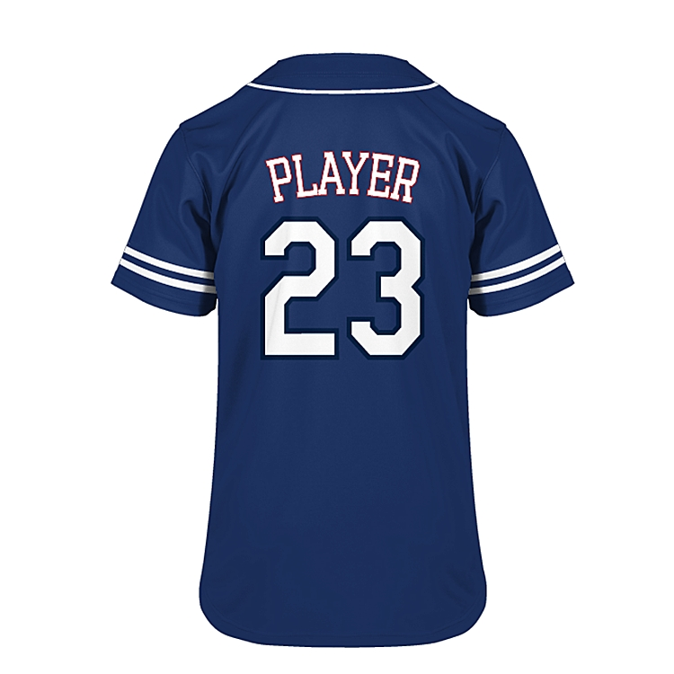 Slionprince wholesale custom blank youth team wear baseball jerseys