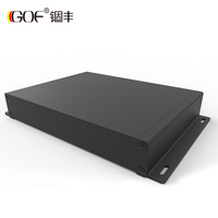 GOF-G01 rack mount power amplifier enclosure aluminium amplifier chassis