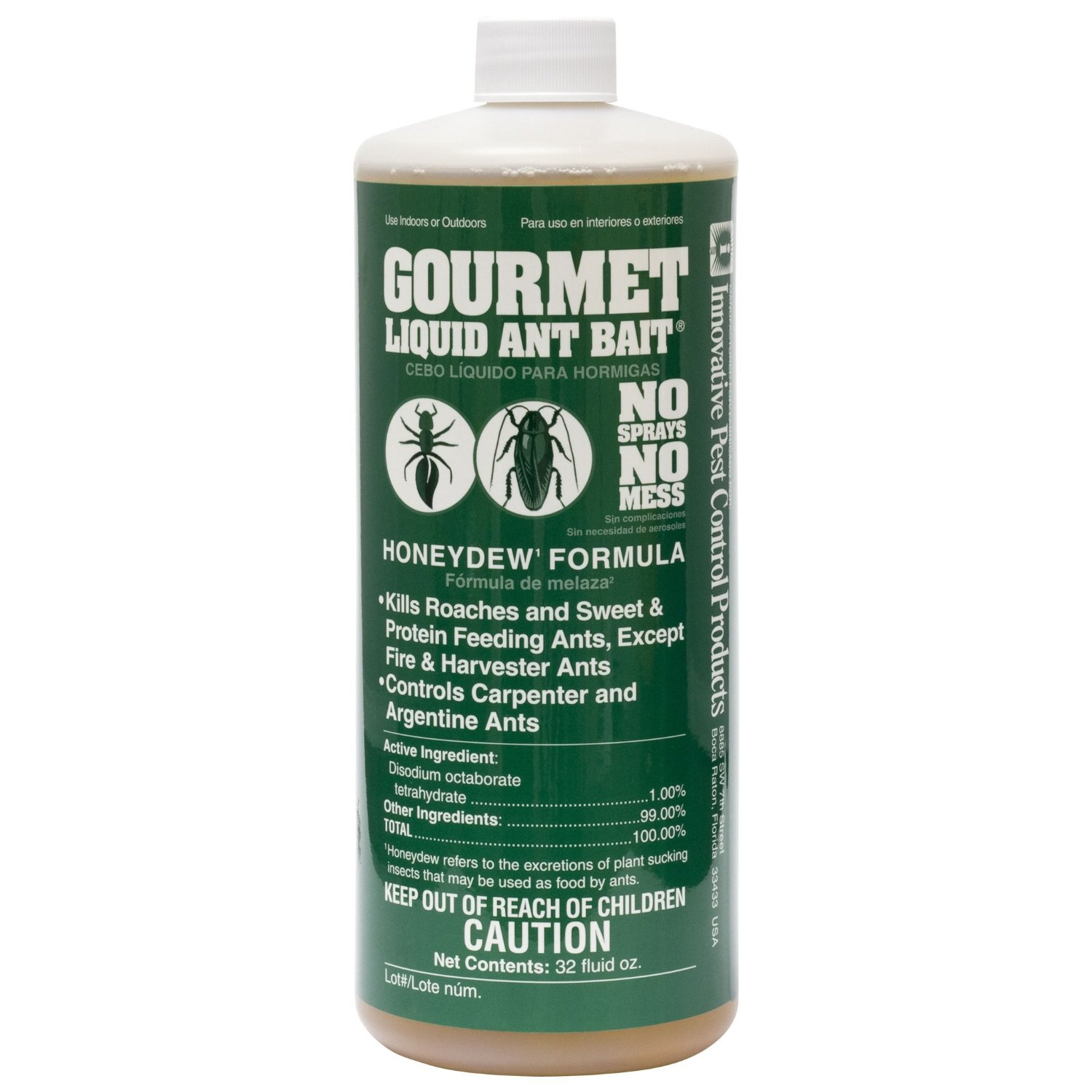 Gourmet Liquid Ant Bait - CASE (12 bottles)