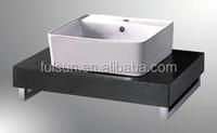 Modern Wall Mounted Ceramic Basin Bathroom Vanity