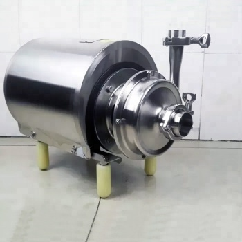 stainless steel food grade centrifugal water pump