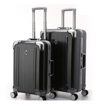 PC + ABS Bagages Valise avec Serrure TSA Spinner 20in 24in 28in