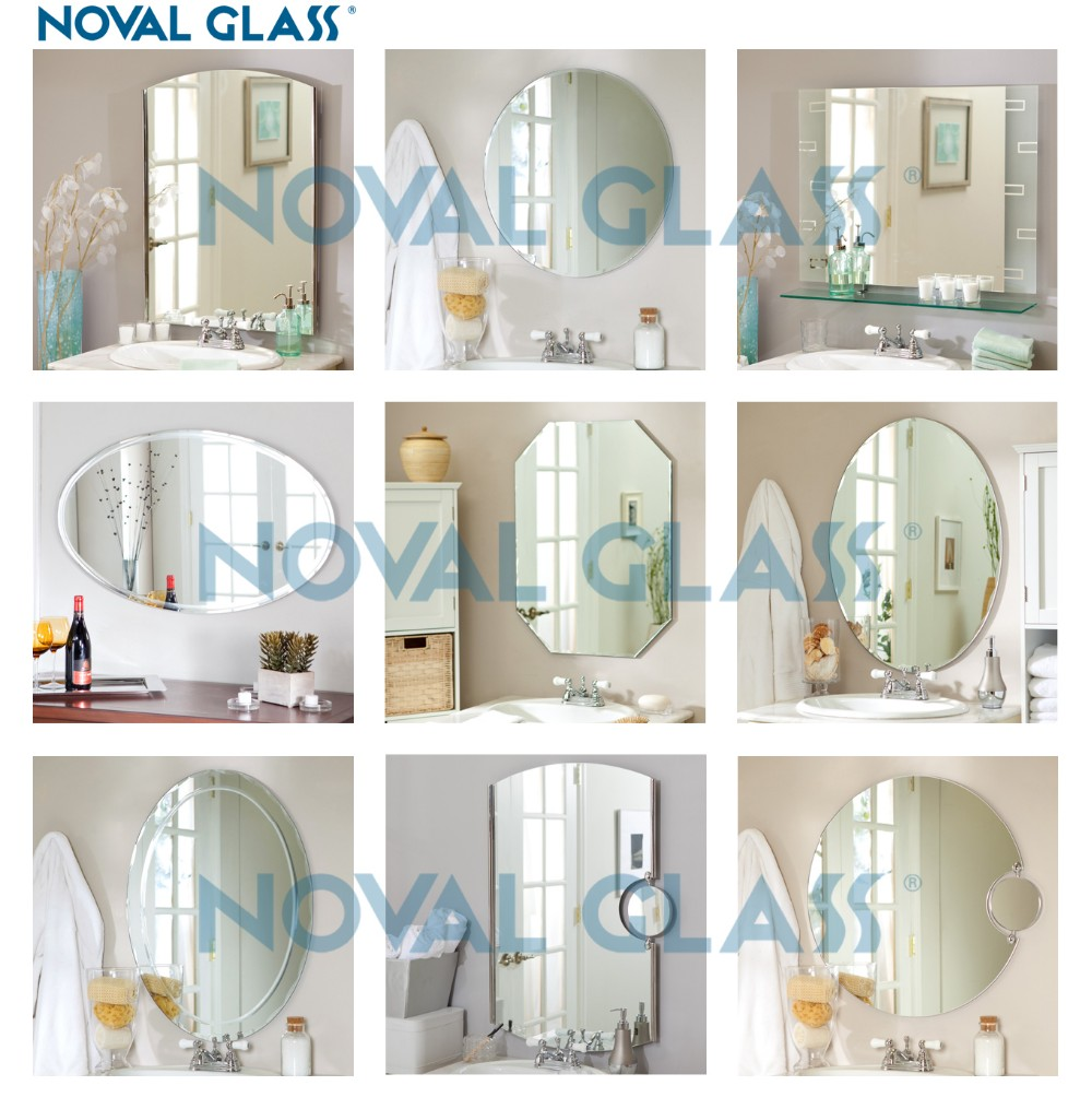 New Designs Of Fancy Bathroom Mirrors For Decor
