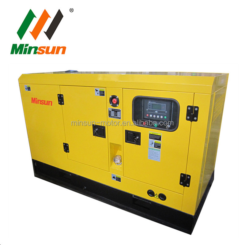 30kva weifang enclosed diesel genset with silent canopy