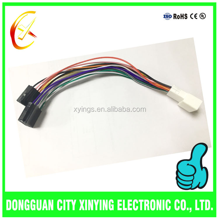 car DVD audio iso connector wire cable for automotive