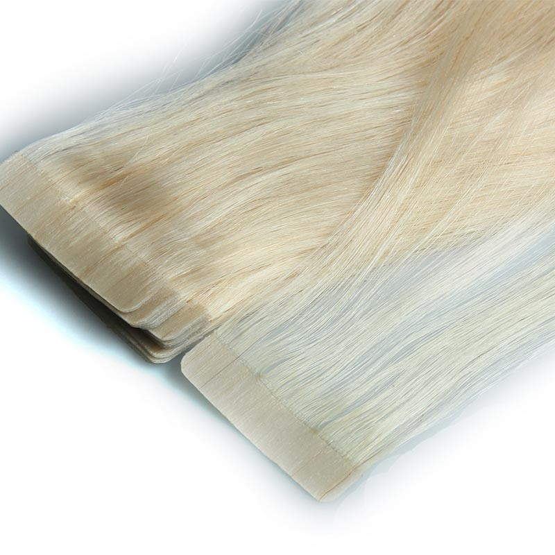2016 newest hand tied pre bonded remy hair extensions u tape