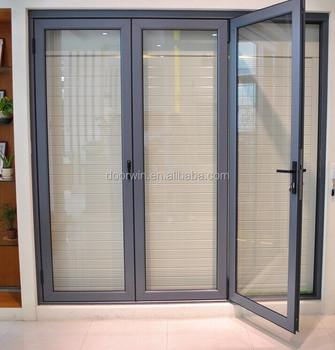 Aluminium soundproof tri fold doors/glass folding door & Aluminium Soundproof Tri Fold Doors/glass Folding Door - Buy ...
