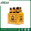 Recycled Materials Feature and Beverage Industrial Use 6 bottle 4 bottle wine cardboard bottle carrier paper box