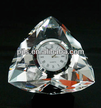 office giveaway gifts crystal clock Advertising Clock Gifts For Promotional Commodity