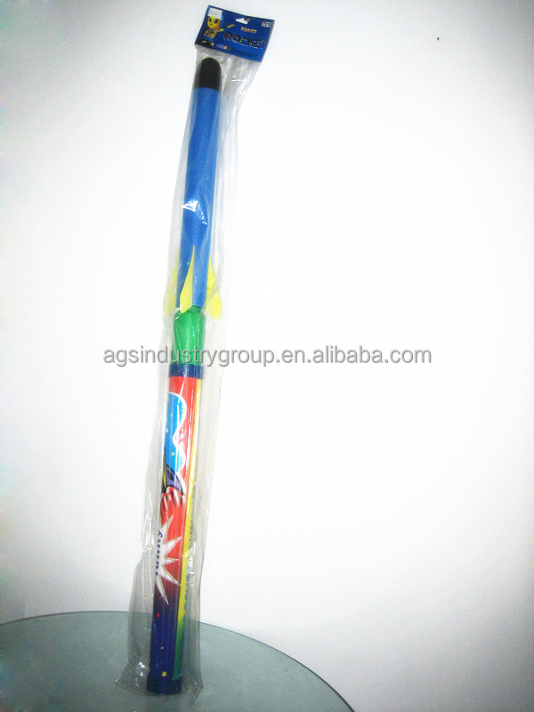 Outdoor playground cheap extra large model rocket toy from ningbo China