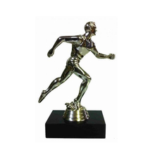 Running Silver Model Metal World Trophy Cup